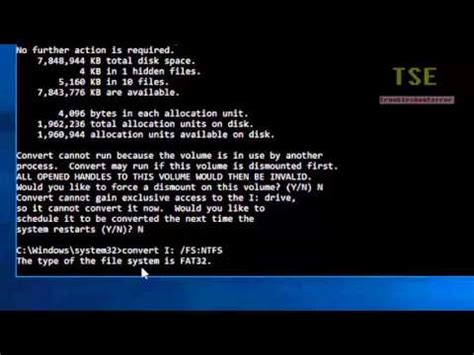 format fat32 error how to convert fat32 to ntfs file system using cmd without