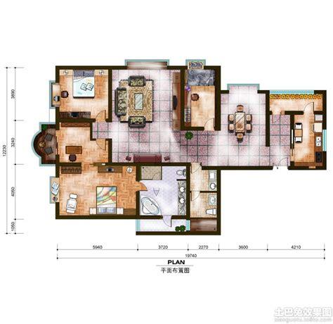best house plan websites 室内设计彩色平面图大全 土巴兔装修效果图