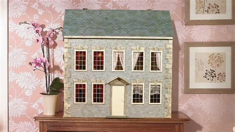decorate a house how to re decorate the outside of your dolls house youtube