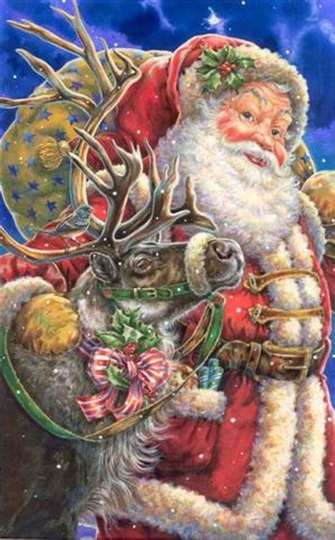 best art of santa and eight teindeer 52 best images about donna race on artworks sled and peace