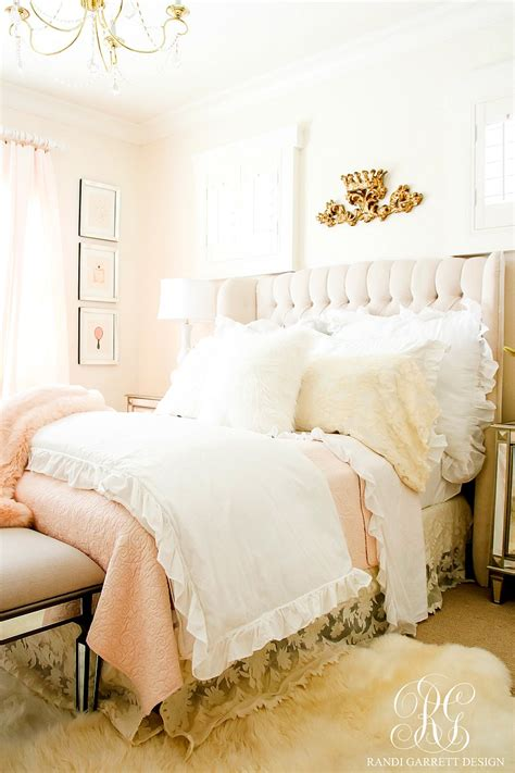 blush pink lace bedroom makeover easy tips to refresh