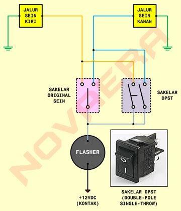 Flasher Hazard Touring By Ono Shop pasang sein hazard di vario techno 110 portal berita