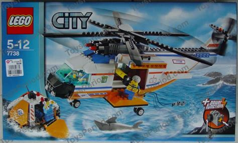 Lego City Coast Guard Helicopter 7738