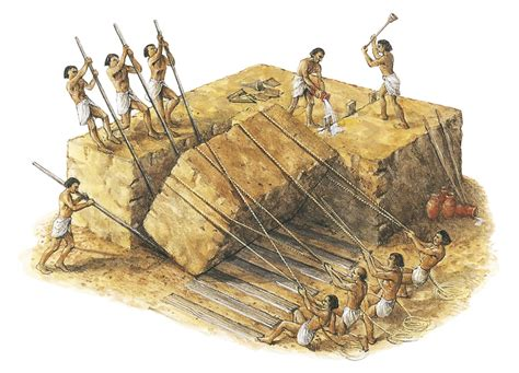 pyramid builders a brief explanation of the mystery building the