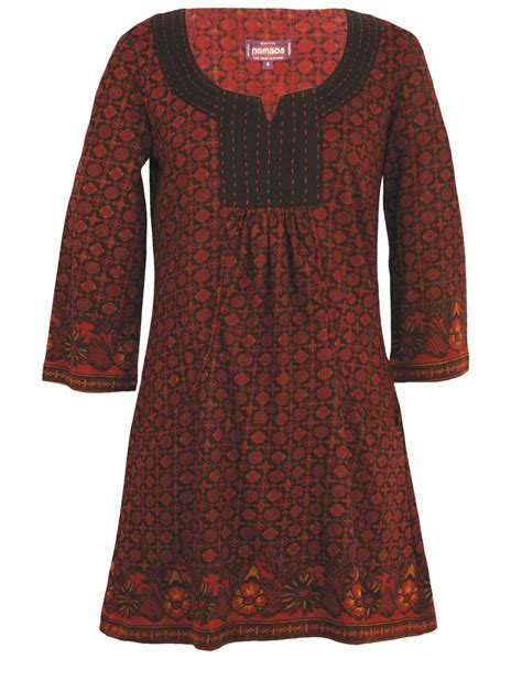 Tunic Top fair trade tunics kaftans nomads clothing