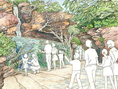 aquarium habitat design robinson design