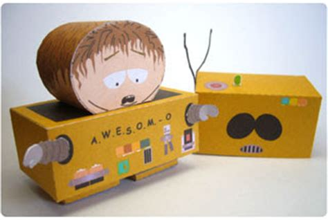 South Park Papercraft - free papercraft and paper model south park papercraft