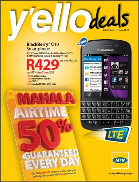 mtn prepaid deals august 2013 from r139 sa mobile networks