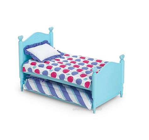 bitty baby bed american girl bt bitty twin trundle bed bedding for 15 quot baby dolls new ebay