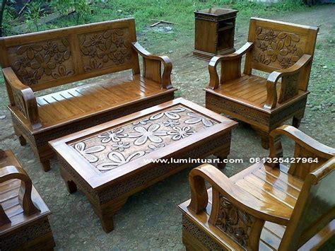 Kursi Tamu Angsa kursi minimalis tamu angsa bunga kayu jati jepara ukir set