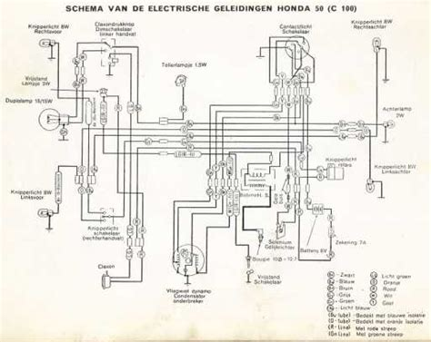 honda c100 wiring diagram 25 wiring diagram images