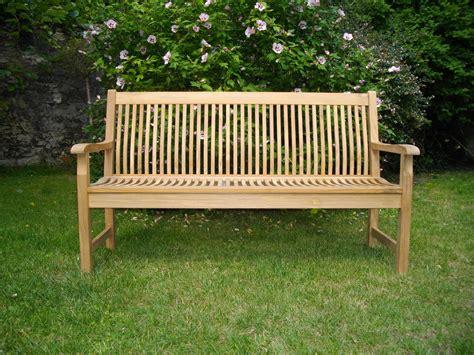 banc en bois occasion banc jardin