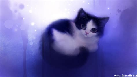 wallpaper of cute cat couple animated cat couple hd page 8