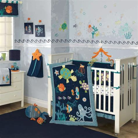 Underwater Crib Bedding Bubbles 9 Baby Crib Bedding Set By Lambs Image Lai531009v Type 1