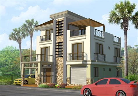 3 story building 3 storey house floor plan design house design plans