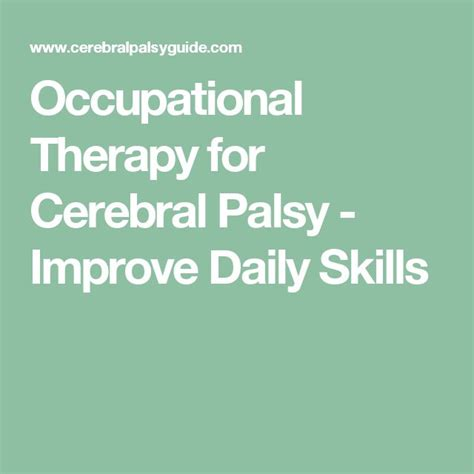 themes of meaning occupational therapy best 25 cerebral palsy activities ideas on pinterest