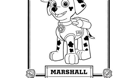 paw patrol marshall coloring page marshall paw patrol coloring pages sketch coloring page