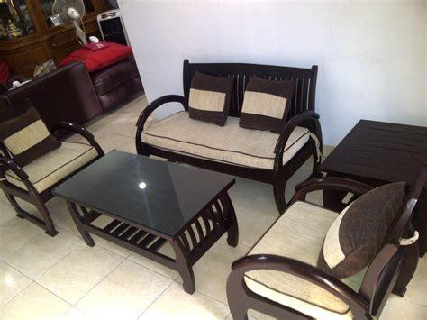 Meja Kursi Kayu Ruang Tamu meja kursi murah ruang tamu yang simple desain ruang tamu