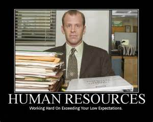 human resources i work at the office