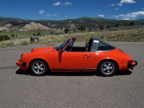 orange porsche targa porsche 911 targa top 1976 orange for sale xfgiven vin