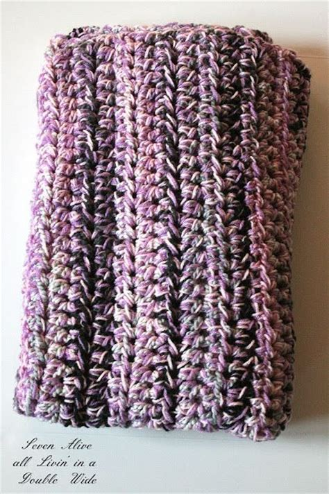 afghan pattern chunky yarn chunky speed afghan use a q size hook and 3 strands