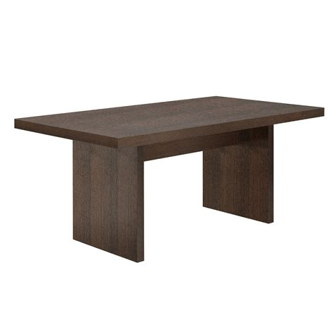 Multi Table by Multi Table Top Perth Legs Chocolate Temahome