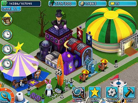 theme park game online golden ticket an amusement park sim game gt ipad iphone