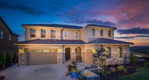 Sacramento New Homes by Summit View At Blackstone New Home Community El Dorado Sacramento California Lennar