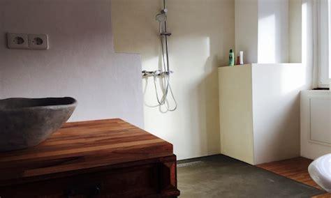 dekorierte badezimmer badumbau zu fugenloser dusche maler pforzheim