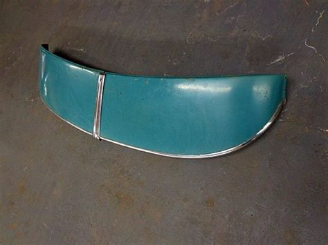1949 1950 chevrolet coupe original exterior front windshield sun visor classic auto parts for