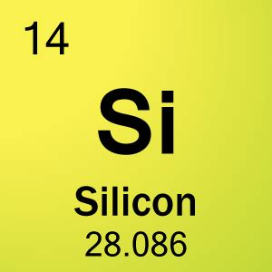 Element With 14 Protons 14 Silicon Gim 5th Period Thinglink