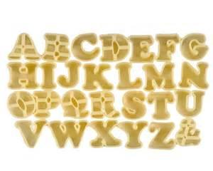 alphabet cookie cutters