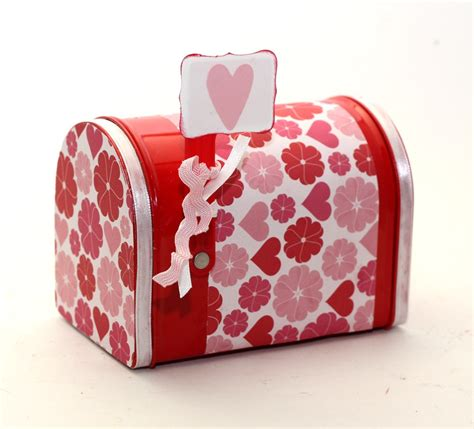 valentines day mailbox s day mailbox keepsake box gift card holder