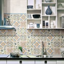 tiles ideas for kitchens create a summery kitchen with moroccan tiles walls and