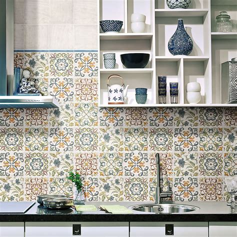 kitchen tile create a summery kitchen with moroccan tiles walls and