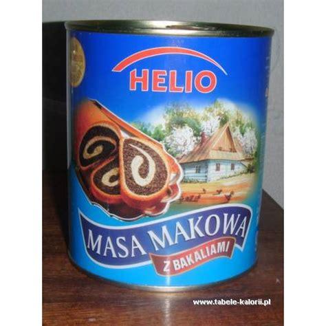 Detox Helio by Masa Makowa Z Bakaliami Helio Kalorie Wartości