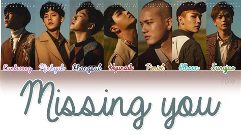 download lagu btob missing you btob 비투비 그리워하다 missing you lyrics color coded eng