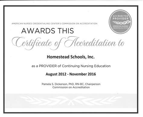 Nursing Certificate Programs - www homesteadschools homestead ceus educational