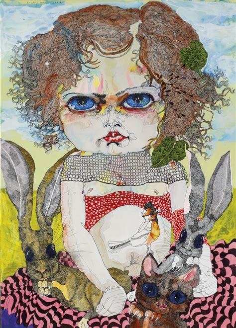 Del Kathryn Barton Artwork by Important Australian Art Au0779