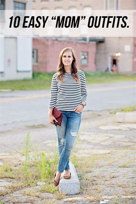 everyday easy mom outfits  good life