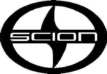 toyota decals scion logo decal sticker 01
