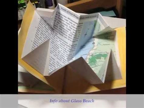 Origami Map Fold - turkish map fold book