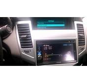 Chevy Cruz Aftermarket Double Din  YouTube