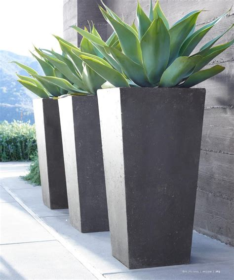 Large Planters by 25 Unique Large Outdoor Planters Ideas On