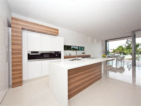 Modern Indoor Benches Down Lighting In A Kitchen Design From An Australian Home