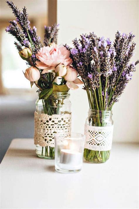 25 best ideas about lavender centerpieces on