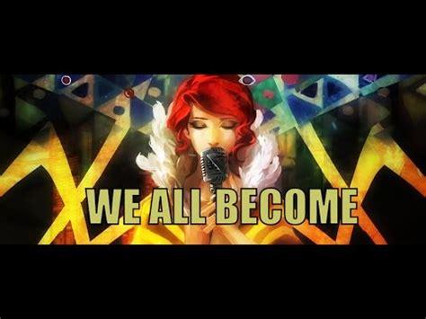 transistor we all become lyrics sharm we all become transistor
