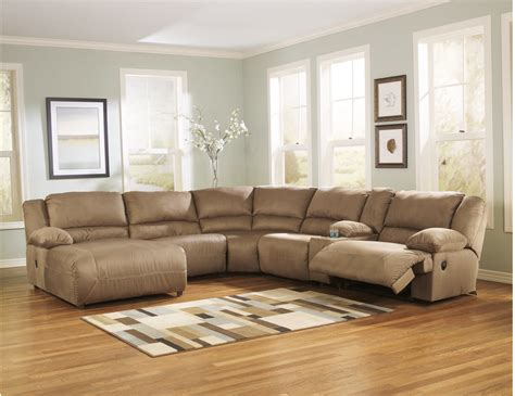 ashley 567 sectional ashley hogan 6 piece sectional by ashley furniture