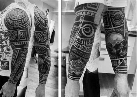 Black Mix Tribal Exvlusive collection of 25 maori tribal tattoos for