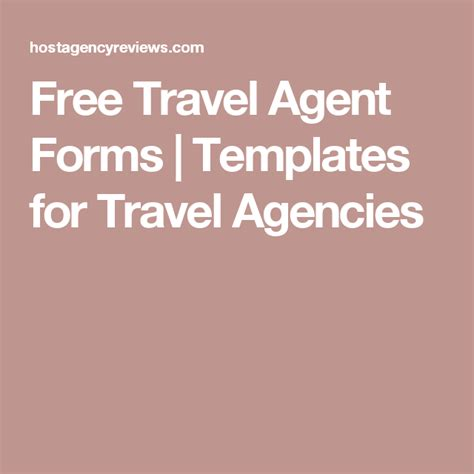 travel agency forms templates free travel forms free travel template and disney